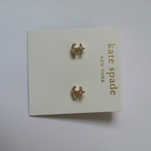 Kate spade anchors away studs earrings